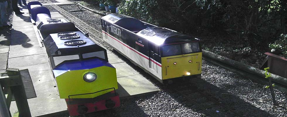 Fancottt Miniature Railway