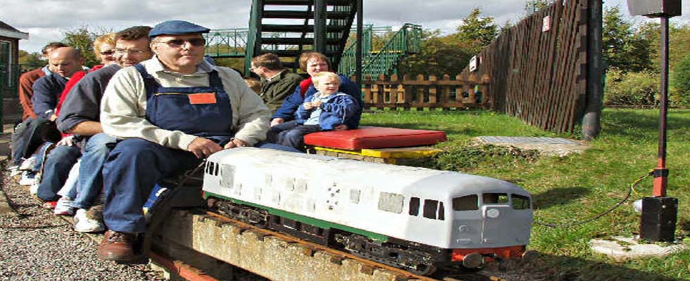 Ashton Court Miniature Railway